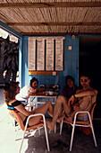 Strandlokal in Vai, Kreta Griechenland