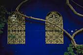 Botanischer Garten Majorelle, Yves Saint Laurent Haus Marrakech, Marokko