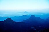 Blick vom Adams Peak, Sri Lanka