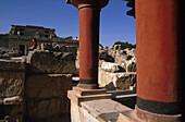 Minoische Palastanlage, Knossos, Kreta Griechenland