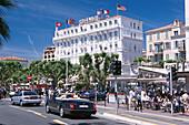 Boulevard de la Croisette, Cannes, Cote d'Azur, France