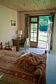 View outside hotelroom, Hostel, Le Relais de la Maison Rousse, Martinique, Caribbean