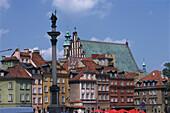 Altstadt von Warschau, Sigismund Saeule, Jesuitenkirche Polen
