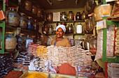 Gewürzhändler, Luxor, Ägypten