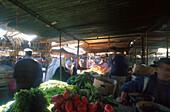 Gemuesemarkt, Latakia Syrien