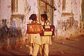 Schulkinder, Esna Aegypten