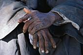 Hände, Luxor Ägypten