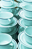 Coffecups, cups menge