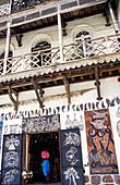 Shopfront in mombasa, house shop