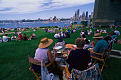 Picnic on Australia Day, Sydney, NSW Australia