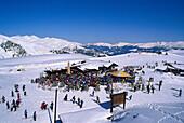 Skiing, Penken, Zillertal, Tyrol Austria