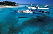 View from jetty, Heron Island, Great Barrier Reef, Queensland, Australia