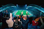 Stadion, Innenaufnahme, Sydney , NSW Australien