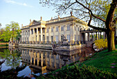 Palace on the Water in the Royal Lazienki Park, Warsaw Poland