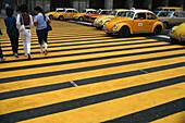 Pedestrian crossing, Mexico