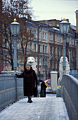 Lion Bridge, Griboyedova Canal, St. Petersburg Russia
