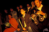Jemaa El Fna musicians, Marrakesh Morocco