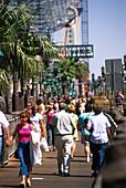 Treasure Island boardwalks, Las Vegas Nevada, USA