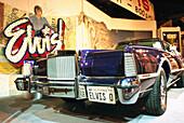 Vintage car inside Elvis-A-Rama museum, Las Vegas, Nevada, USA, America