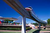 Monorail, Epcot Center, Disneyworld, Orlando Florida, USA