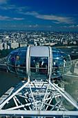 The London Eye cabine, London, England, Great Britain