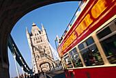 City tours, Tower Bridge, London, England, Great Britain
