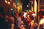 Nightlife in the Barrio Alto, Lisbon Portugal