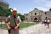 Texas Alamo Ranger, The Alamo, San Antonio, Texas USA