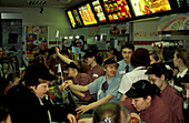 MacDonalds madness, St. Petersburg Russia