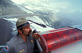 Ranger, Glacier NP, Rocky Mountains Montana, USA