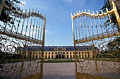 The gates of Herrenhausen Palace, Hannover, Lower Saxony, Germany
