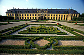 Herrenhausen Castle with formel garden, Hannover, Lower Saxony Germany