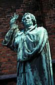 Statue of Martin Luther, Hannover, Lower Saxony, Germany