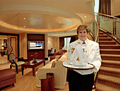 Personal service, Grand duplex suite, Queen Mary 2