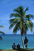 Strand, Cabrera, Nordkueste, Dominikanische Republik, Karibik