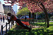 Fitness, Washington Square, Greenwich Village, Manhattan New York, USA