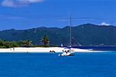 Sandy Spit near Jost van Dyke, British Virgin Island Caribbean