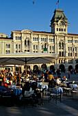 Plaza della Unita d´Italia, Triest, Friuli Italy