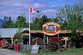 Shop in Carcross Town, Carcross Town, Yukon Territory, Canada