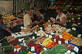 Viktualienmarkt, Muenchen Bayern, Detuschland