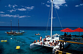 Party im Margueritaville, Montego Bay Jamaika, Karibik