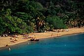 Strand, Sosua, Nordkueste, Dominikanische Republik Karibik