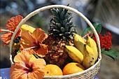 Obstkorb, Jamaika Karibik