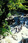 Dunn´s River Falls, Ochos Rios, Distrikt St. Ann Jamaika, Karibik