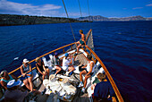 Boat Trip, Santorini Greece