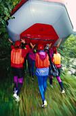 Rafting, Saalach River, Salzburger Land Austria, Sports