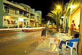 Cafe in Santa Maria, Santa Maria, Sal, Cape Verde Islands, Africa