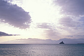 Clouds above the sea, Mindelo, Sao Vicente, Cape Verde Islands, Africa