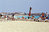 Beach of Santa Maria, Sal, Cape Verde Islands, Africa