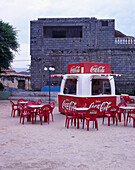 Coca Cola Bar, Beach, Tarrafal, Santiago Cape Verde